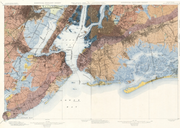 Geological Map from 1902 Survey